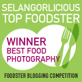 Selangorlicious, 2011, Best Food Photographer